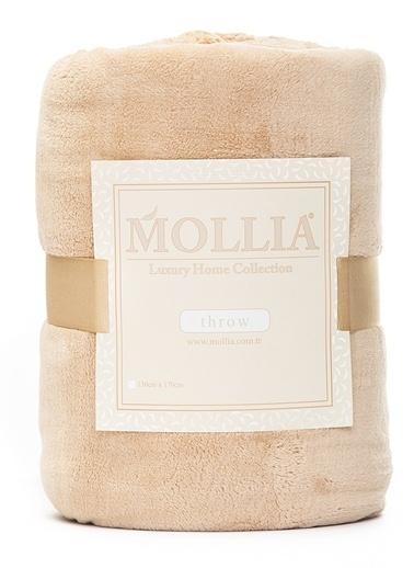 Mollia Soft Touch Diz Üstü Battaniye Bej